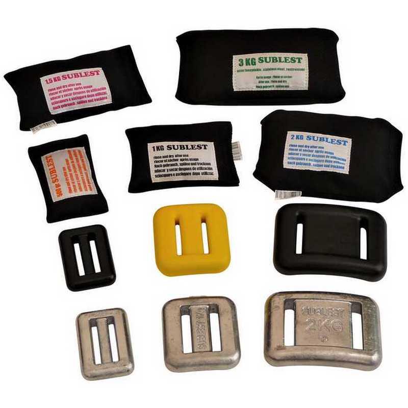 Sublest - lest de ceinture et poches grenaille